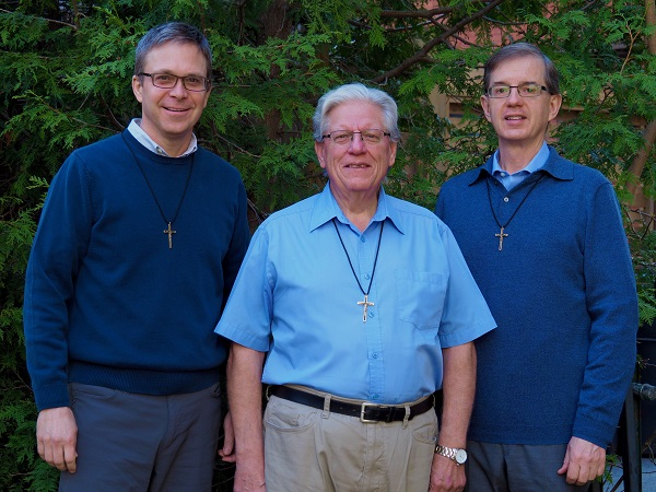 Board of Directors: Oblates Ken Thorson, Richard Beaudette and Harley Mapes